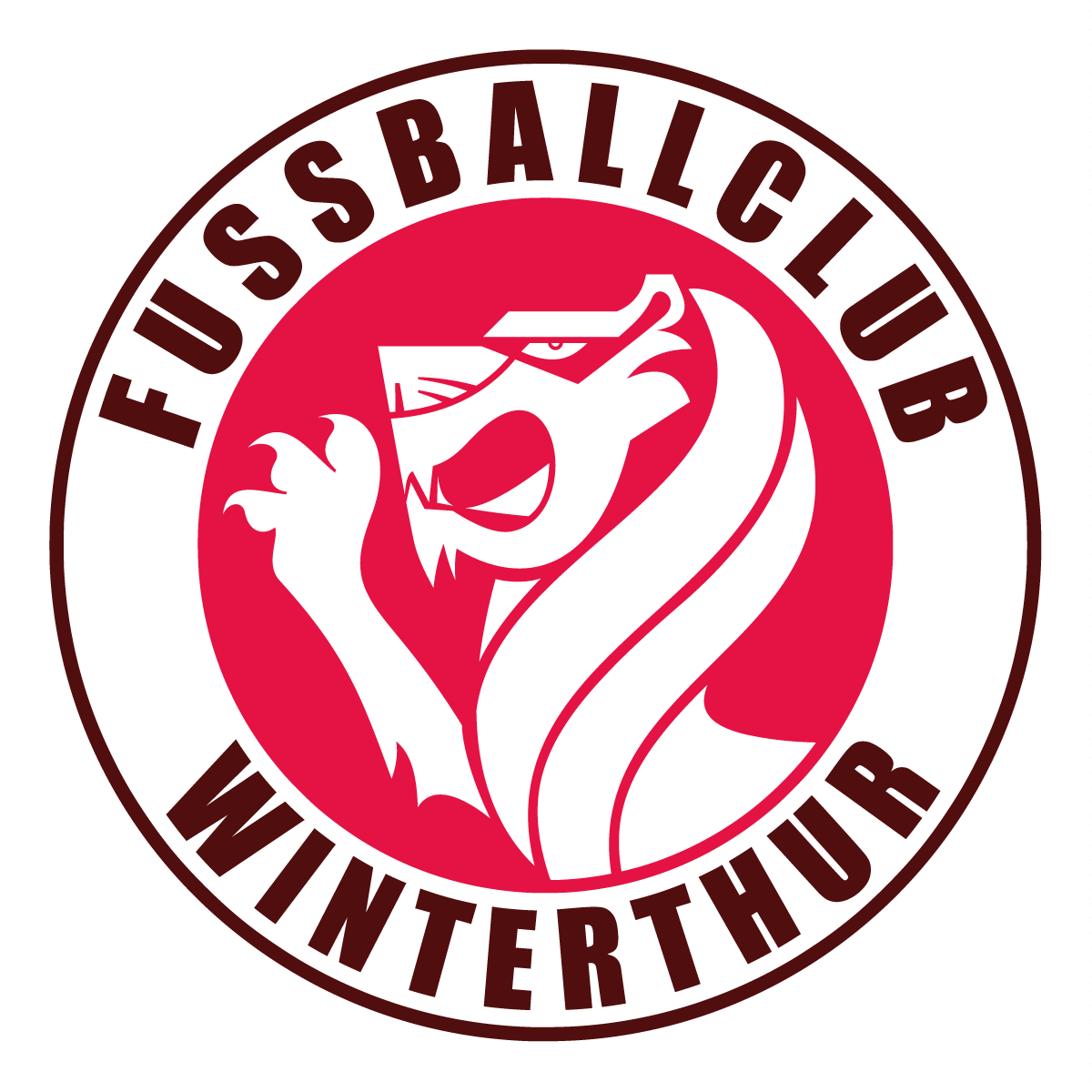 FC Winterthur Blog fcwinti.com Logo - Gezeichnet von Jerzovskaja (Vector illustration drawn with Adobe Illustrator)
